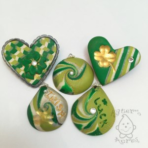 Saint Patrick's Day Inspired Jewelry Items by KatersAcres