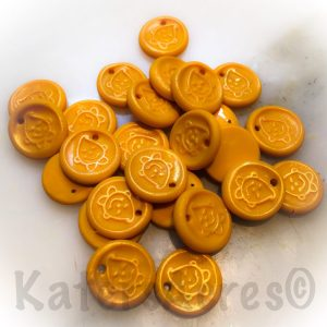 Polymer Clay Faux Wax Seals by KatersAcres