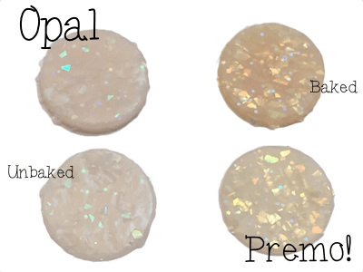 2015 Polyform Color Review - Premo Sculpey Polymer Clay in Opal