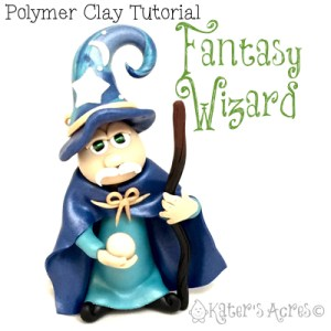 Polymer Clay Fantasy Wizard Polymer Clay Tutorial by KatersAcres