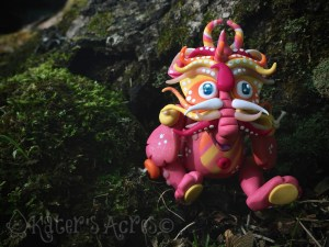 """""""Fun"""" Chinese Inspired Articulated Polymer Clay Dragon Collectible by KatersAcres"""