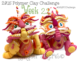 2015 Polymer Clay Challenge, Week 22 by KatersAcres | #2015PCChallenge
