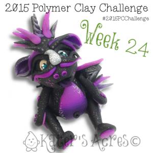 2015 Polymer Clay Challenge, Week 24 by KatersAcres | #2015PCChallenge