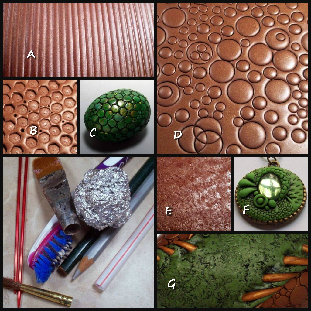 Top Five Polymer Clay Texture Tools By Chris Kapono