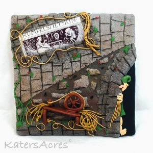 """Once Upon A Time"" Project, Rumpelstiltskin by Katie Oskin of KatersAcres 