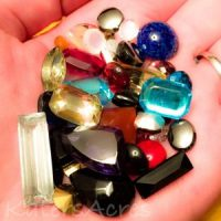Vintage Glass Stones from B'Sue Boutiques