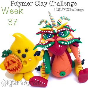 2015 Polymer Clay Challenge, Week 37 by KatersAcres   #2015PCChallenge