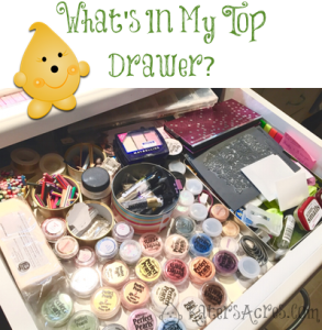 Polymer Clay Studio: What's In My Top Drawer at KatersAcres