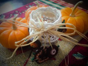 Fall Polymer Clay Tutorial, Festive Masor Jar Centerpiece using Millefiori Canes   October Pavelka Project