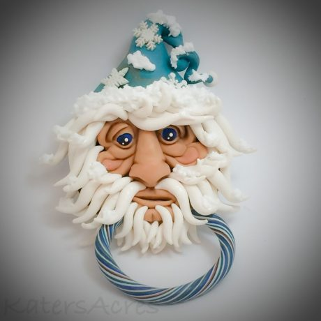 Old Man Winter Door Knocker Tutorial by KatersAcres PREVIEW