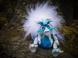 "2015 Polymer Clay Challenge - Week 50 ""Fluffy"" with #KatersAcres #2015PCChallenge"