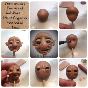 The Making of Cypress the Wood Elf by Katie Oskin