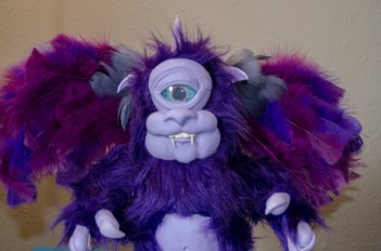 'Purple People Eater' Monster by Cyndi Small