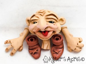 Polymer Clay Doll Parts by Katie Oskin of KatersAcres | #2016PCChallenge, Week 22