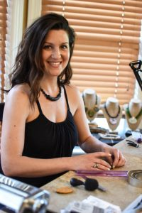 Shannon Tabor of Charleston Clay Jewelry