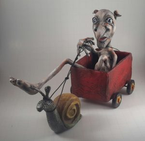 Polymer Clay Sculpture by Bettie Griffin