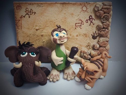 Prehistoric Polymer Clay Figurine Tutorials by KatersAcres