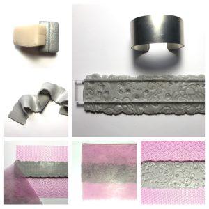 Polymer Clay EasyCuffs Tutorial with Teresa Pandora Salgado