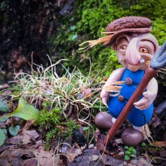 Polymer Clay 'Schrume, Troll Doll DELL by KatersAcres