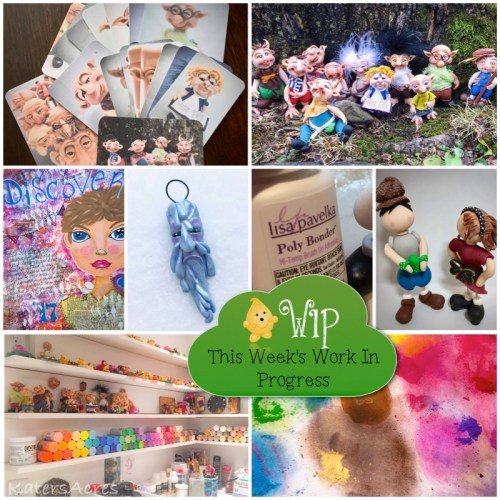 WIP Wednesday: Polymer Clay Studio Ideas & More | CLICK for Ideas, Hints, Tips, & More