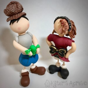 Polymer Clay Toothpick Kids Tutorials by KatersAcres | CLICK to learn how to make your own