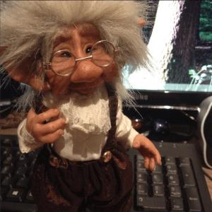 Shirley's Studio Fancy Troll