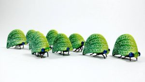 Leafhopper Bugs by Wendy Jorre de St Jorre for Into the Forest
