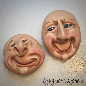 Finished Fantasy Faces in bezel