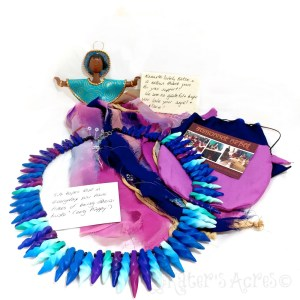 Sumunnat Nepal - Polymer Clay Doll & Necklace