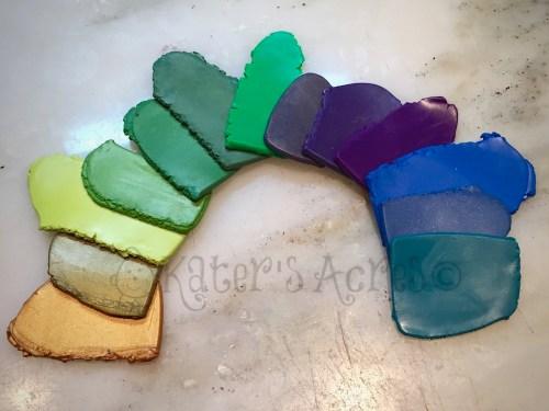Making a Color Palette 101 - Whole Palette