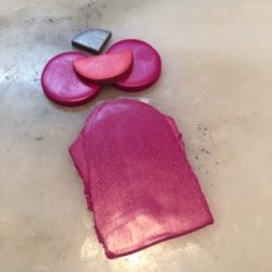Polymer Clay Color Recipe for Raspberry Puree by KatersAcres