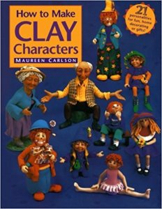 Maureen Carlson Clay Characters Book