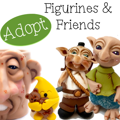 Adoptable Polymer Clay Figurines