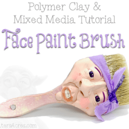 Face Paint Brush Tutorial by KatersAcres