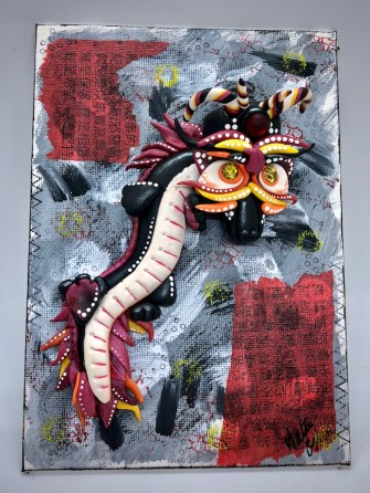 Bolong the Dragon by Katie Oskin