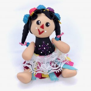 Mexican Rag Doll Polymer Clay Tutorial by KatersAcres