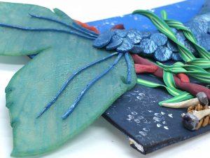 Mermaid Tail Closeup by Katie Oskin