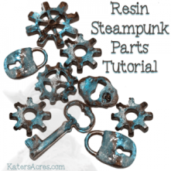 Resin Steampunk Parts Tutorial by KatersAcres