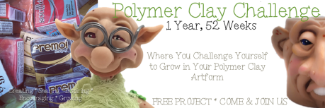 Polymer Clay Challenge Hosted by Kater's Acres
