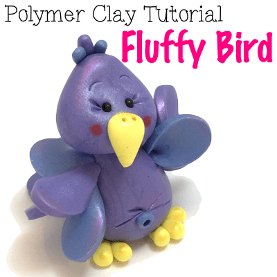 Fluffy-Bird-Polymer-Clay-Tutorial-by-KatersAcres