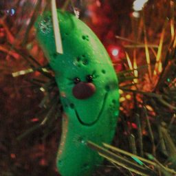 Pickle Ornament 1 by KatersAcres