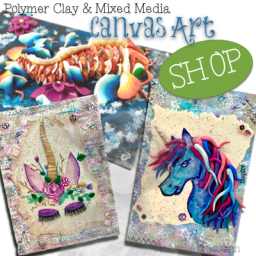 Polymer Clay & Mixed Media Art
