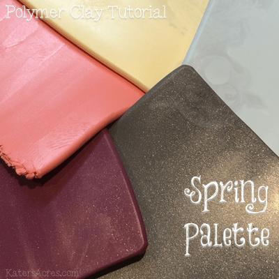 Spring Color Palette Worksheet by KatersAcres