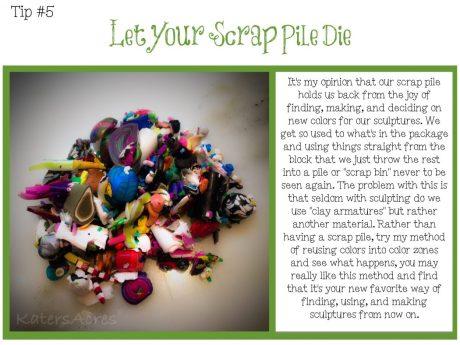 TIPS CARD 5 - Let Your Scrap Pile Die