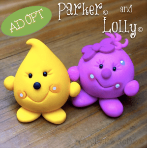 Adopt Parker & Lolly Figurines by Kater's Acres