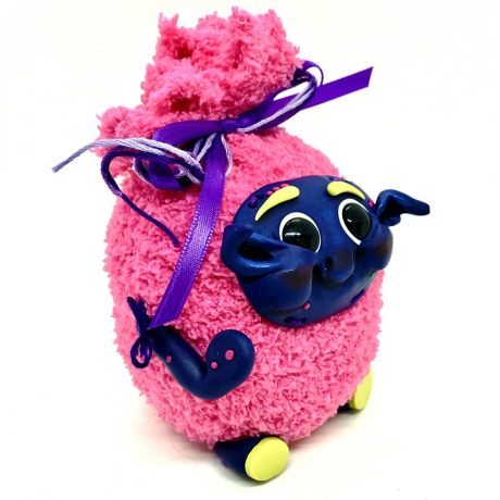 Stuffed Toy with Polymer Clay Tutorial by Kater's Acres