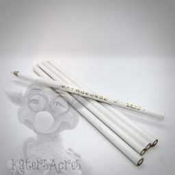 White Wax Pick Up Pencil from Kater's Acres