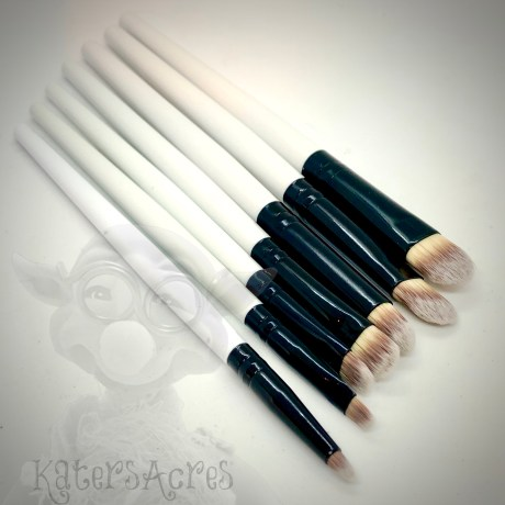 Short Handled Brushes for Polymer Clay by KatersAcres