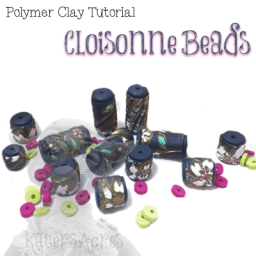 Faux Cloisonne Beads Tutorial by KatersAcres
