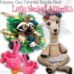 Long Necked Animals Bundle Pack by Kater's Acres